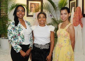 Maxiel Abreu, Lidia Martinez, Jeniffer Espinal.