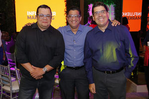 Rafael Fernández, Freddy Calero, Jose Luis Ravelo.