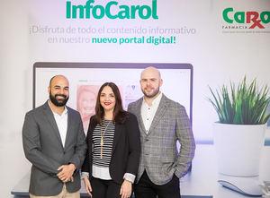 Carlos Gómez, Joan Landolfi y Raúl Peña.
