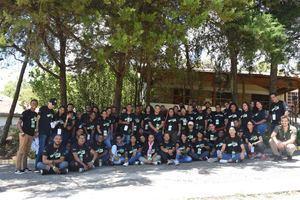 El campamento comprendió varias actividades formativas, a fin de desarrollar multiplicadores de buenas acciones y apostar por el cambio social.