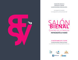 Salón Bienal Centro de la Imagen.