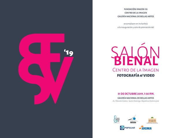 Apertura del Salón Bienal Centro de la Imagen - 31 de octubre