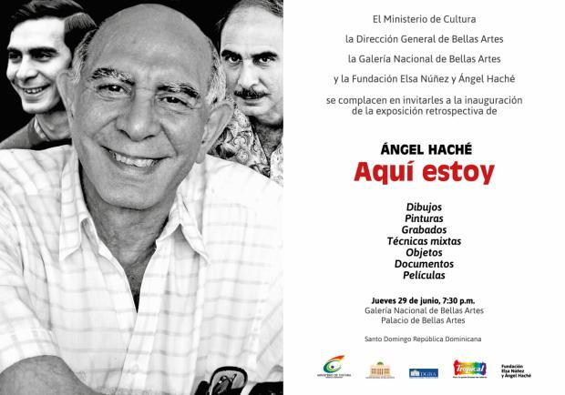 Retrospectiva de Ángel Haché en la Galería Nacional de Bellas Artes