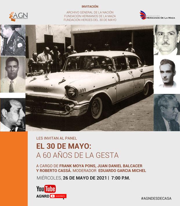 """Invitan al panel: """"El 30 de mayo: a 60 años de la gesta"""" el 26 de mayo en el AGN"""