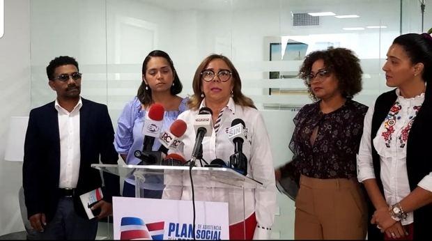 La directora general del Plan de Asistencia Social de la Presidencia, PASP, Iris Guaba.