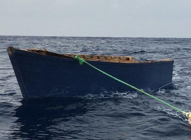 operación conjunta de búsqueda y rescate, en el día de ayer lunes 07 de octubre 2019, la Armada de República Dominicana con el apoyo de la Guardia Costera de los EE. UU.