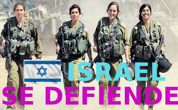 Israel se defiende a sangre y fuego...