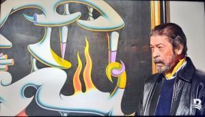 Ivan Tovar, reconocido artista de las artes plásticas dominicana.