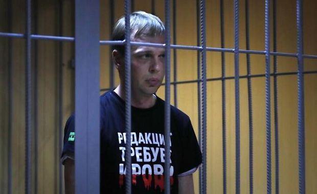 El Tribunal de Moscú decreta arresto domiciliario para periodista Golunov