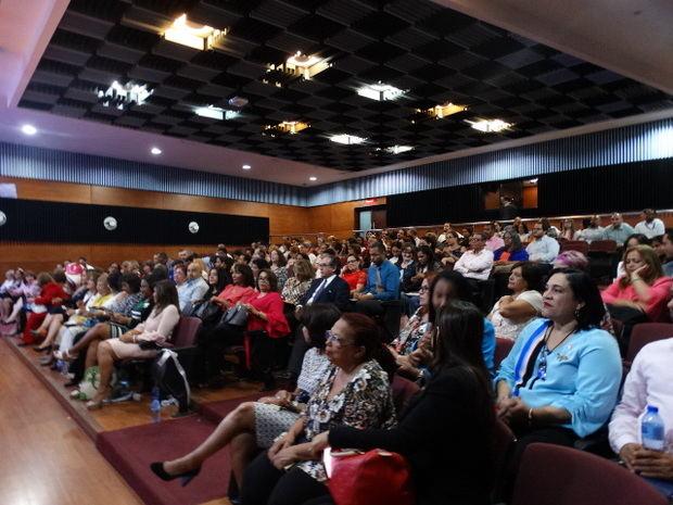 Público del evento.