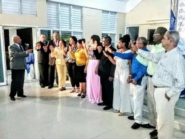 Colegio Dominicano de Periodistas juramenta nueva directiva de la filial de Haina