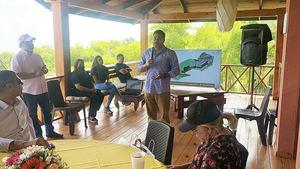 Ejecutivos del Grupo Empresarial Desarrollo Ecoturístico Jarabacoa.