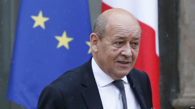 Jean-Yves Le Drian, ministro de Relaciones Exteriores de Francia