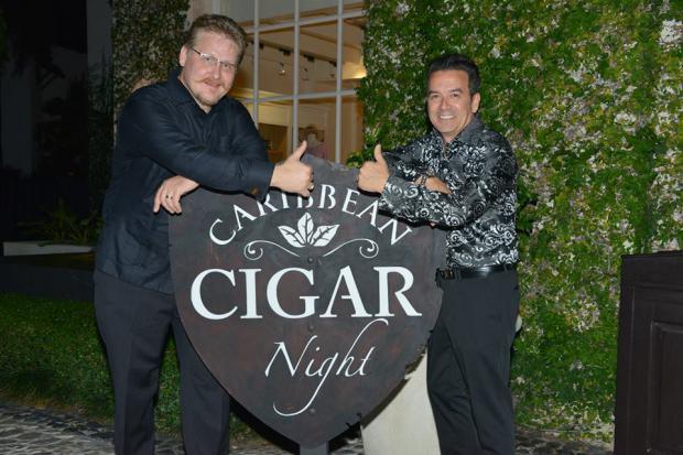 Todo listo para la décima edición del Playa Dorada Caribbean Cigar Night