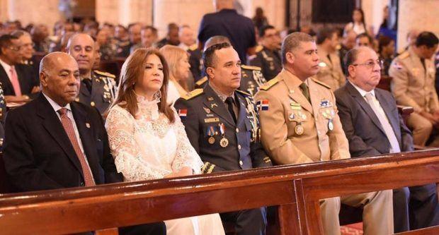 Policía Nacional celebra con misa 83 aniversario de su fundación