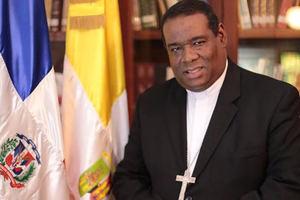 Monseñor Jesús Castro Marte, Obispo Auxiliar de Santo Domingo.