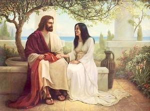 Jesús y María de Magdala.