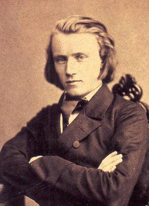 Johannes Brahms (1853)