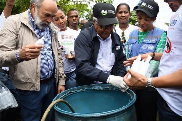 Ministro de Educación encabezará jornada nacional contra el Dengue en el fin de semana