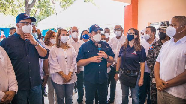 Ministerio Administrativo de la Presidencia acompaña al Gabinate de Salud en jornadas de vacunación