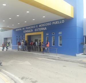 Hospital Moscoso Puello.