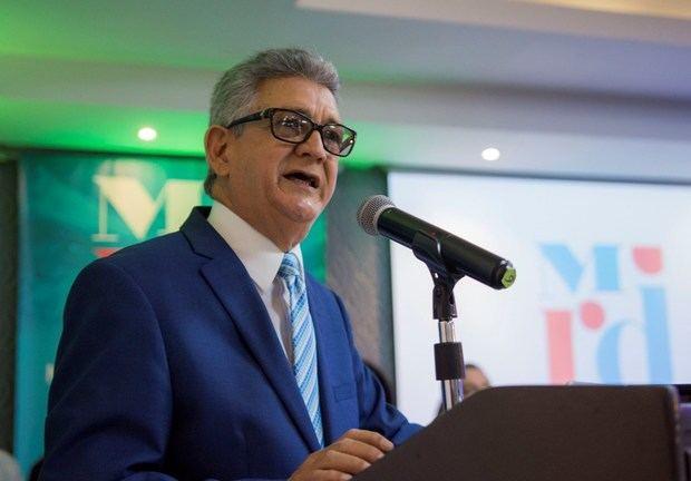 El economista José Rijo Presbot, coordinador general de MiRD.