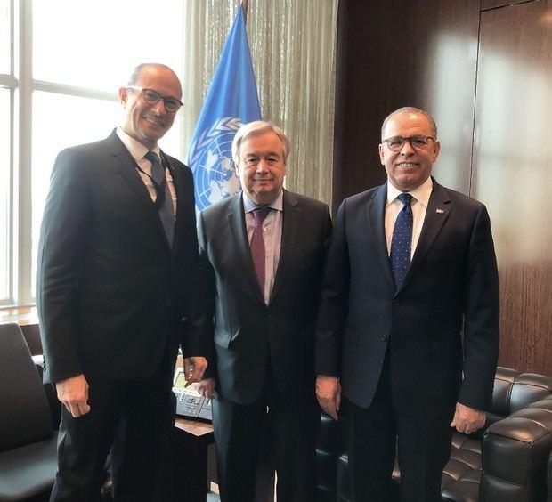 José Antonio Rodriguez y Antonio Guterres y Francisco Cortorreal.