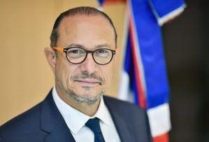 El embajador dominicano ante la Unesco, José Antonio Rodríguez.