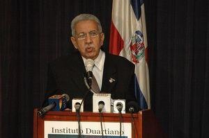 José Joaquín Pérez Saviñón, presidente Instituto Duartiano