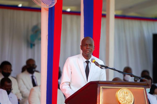 Asesinan al presidente de Haití