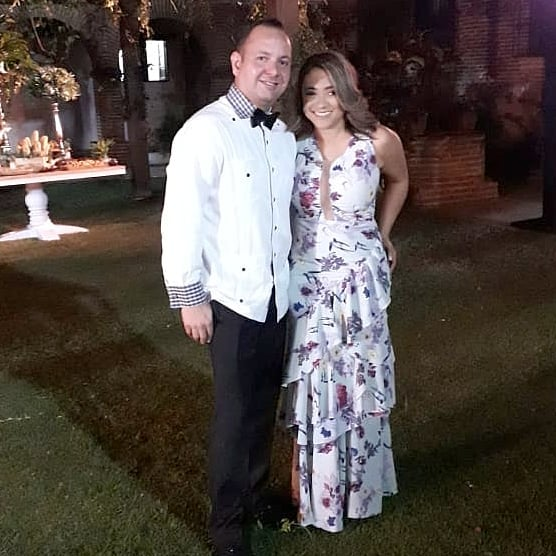Juan Carlos Molina y Mabelyn Paredes