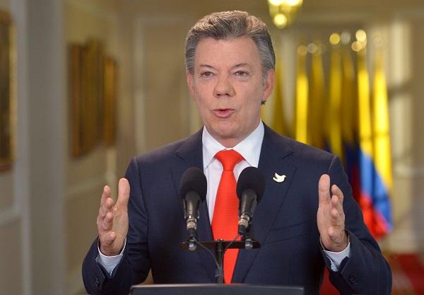 Presidente Santos convencido de negociación con las FARC para lograr la paz