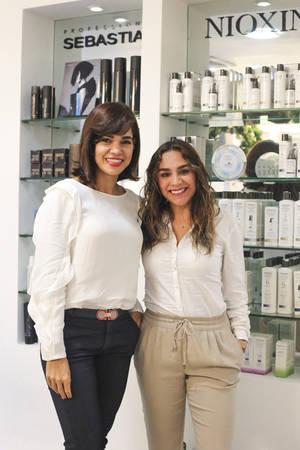 Julia Naut y Jessica Hernández.