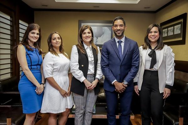 Julissa Padrón, Sara Sena, Diomares Musa y Judith Rodríguez
