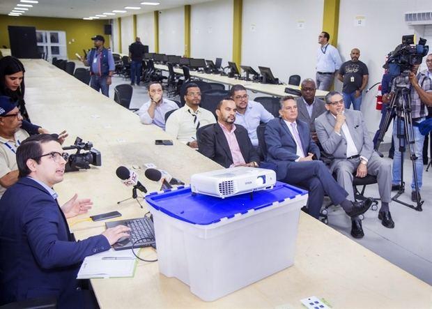 JCE acoge solicitud del PRM de auditar el 30% de equipos del Voto Automatizado