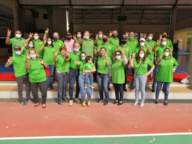 """Damas del Club Naco dicen """"no a la reelección"""" al apoyar la plancha Esperanza Naqueña"""