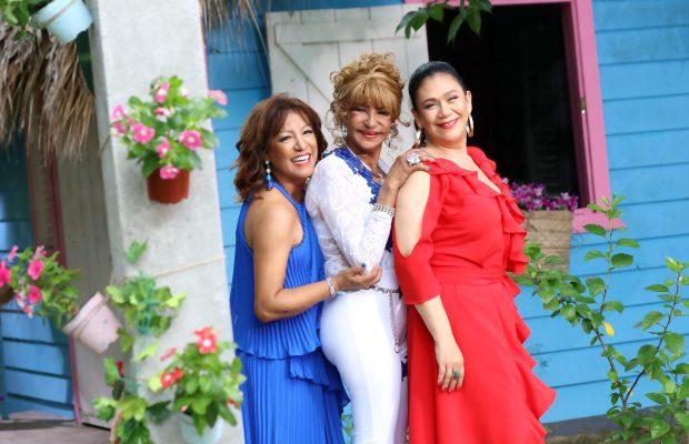 Milly, Fefita y Maridalia.