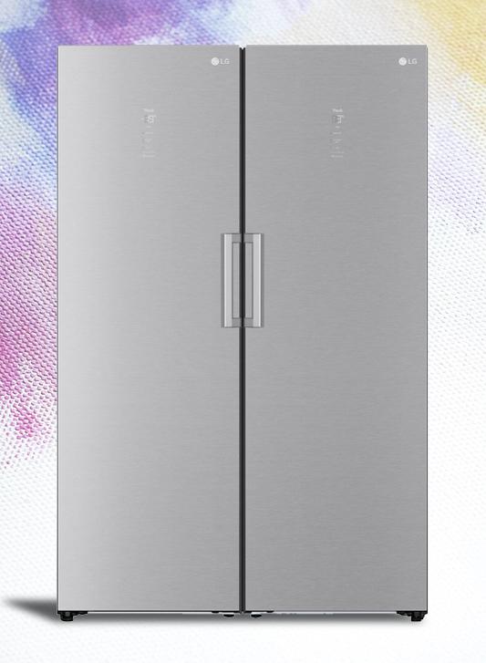 LG Fridge & Freezer.