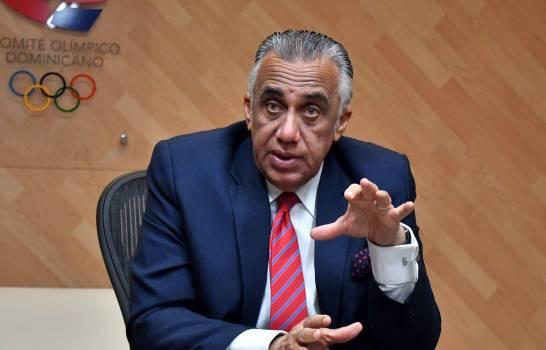Mejía termina su presidencia en el COD en enero próximo