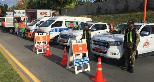 Refuerzan las patrullas de carreteras por el feriado de la Altagracia.