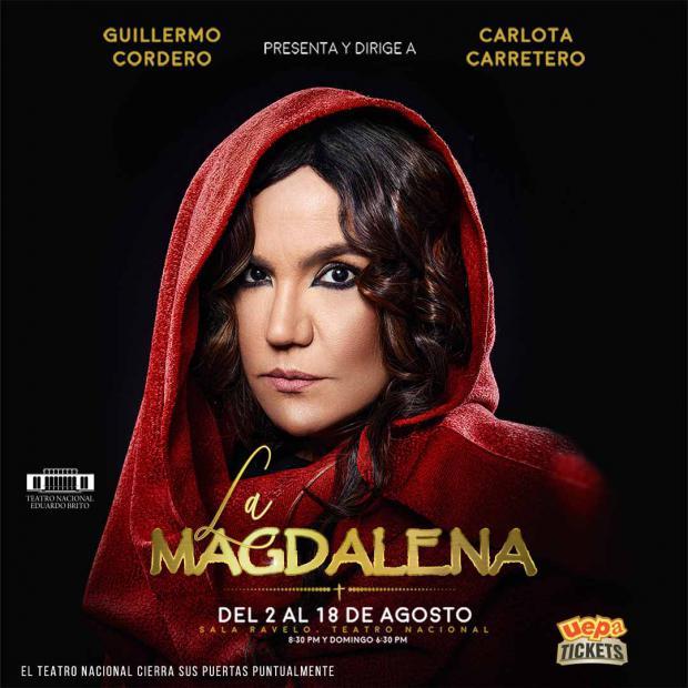 """Obra de teatro """"La Magdalena"""". Este fin de semana en su última función."""