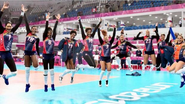 1-3 República Dominicana gana oro en voleibol femenino al derrotar a Colombia