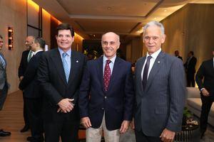Luis Brache, Alejandro Abellán García de Diego, José Luis Alonso.