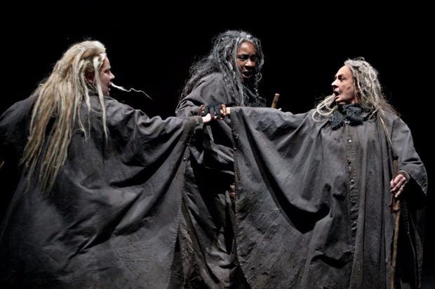 Las tres brujas de Macbeth.
