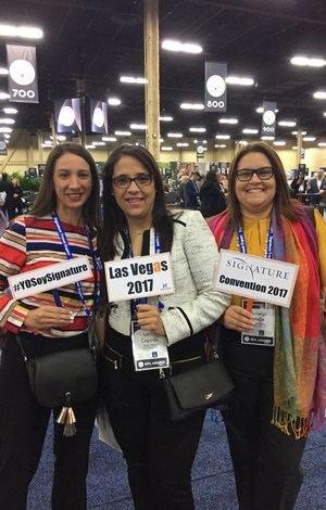 Laura Guzman, Leidy Cepeda y Solanyi Mejía.