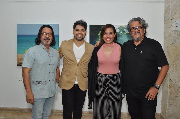 Francis Cruz, Danilo Reynoso,  Fiora Cruz y Juan Basanta.