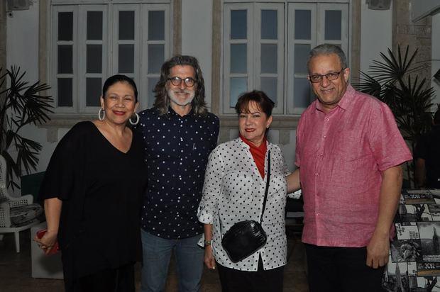 Maridalia Hernández, Jordi Masalles, Yamel Mejía y Manuel Tejada.