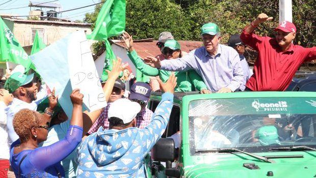 Leonel inaugura el primer local del partido Fuerza del Pueblo en Dajabón
