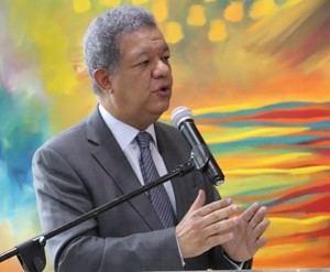 Presidente de Fuerza del Pueblo (FP), Leonel Fernández.