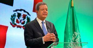 Candidato a la Presidencia por la Fuerza del Pueblo, Leonel Fernández.